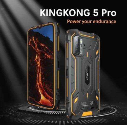 Характеристики Cubot KingKong 5 Pro