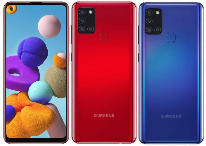 Характеристики Samsung Galaxy A21s