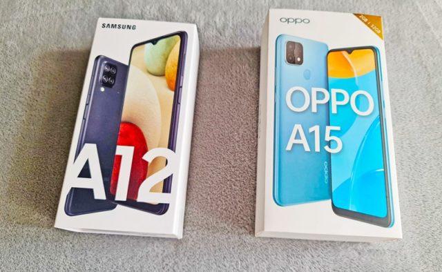 Samsung Galaxy A12 и Oppo A15 – сравнение двух бюджетных смартфонов на Mediatek Helio P35