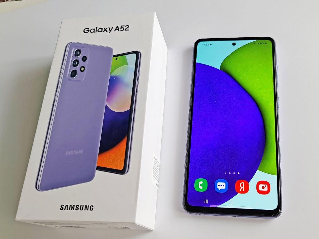 Дисплей Samsung Galaxy A52
