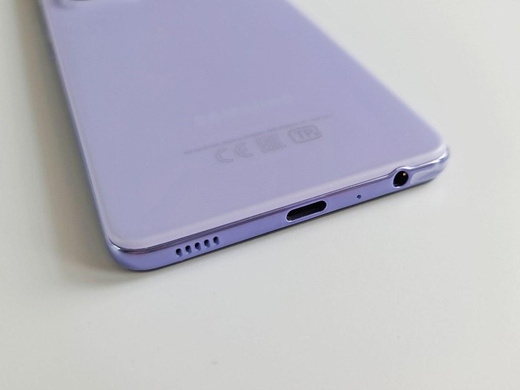 Нижняя грань смартфона Samsung Galaxy A52