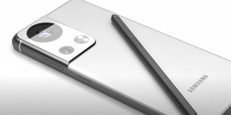 Мегакамера: в сети показали, как будет выглядеть Samsung Galaxy S22 Ultra