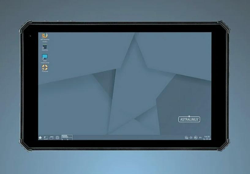 Чуть больше смартфона: вышел полностью российский компактный планшет на отечественной ОС Astra Linux