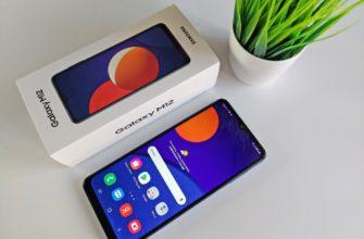 Обзор Samsung Galaxy M12