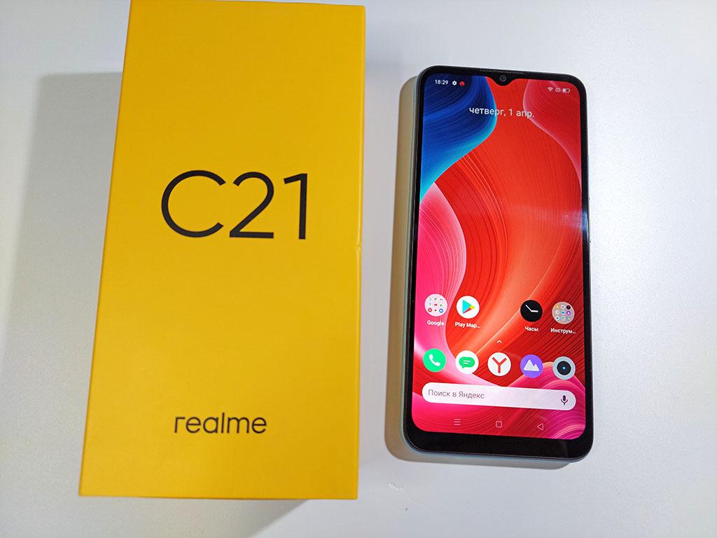Обзор Realme C21