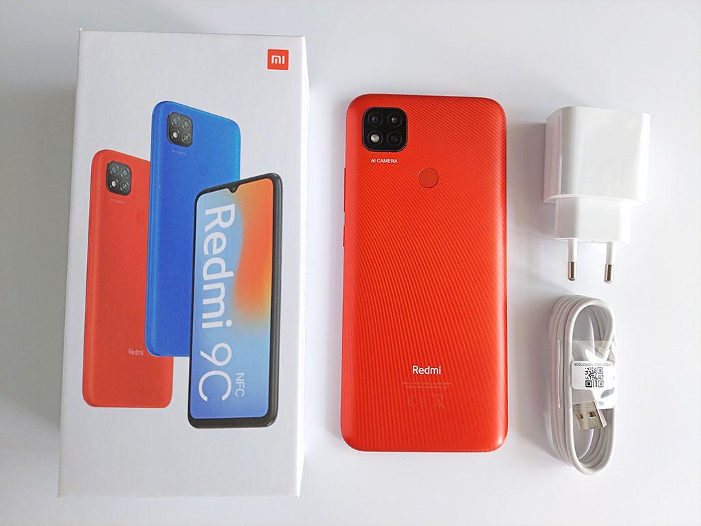 Комплектация Redmi 9C NFC