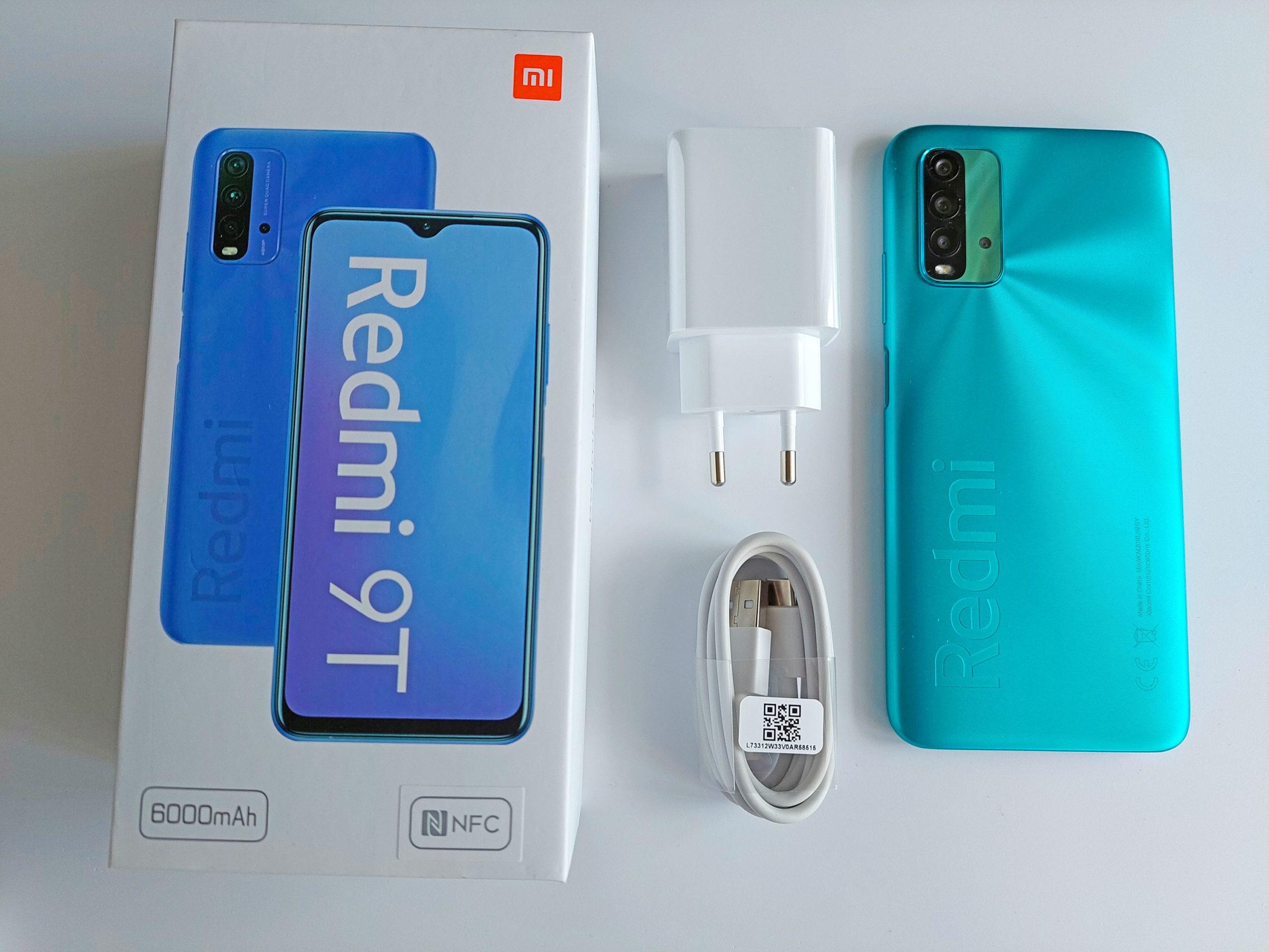 Комплектация смартфона Xiaomi Redmi 9T