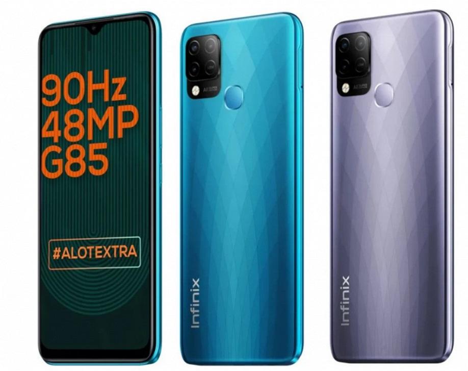 Не очень известный бренд выпустил смартфон-хит за 10 тысяч рублей: 6,82 дюйма, 90 Гц, Android 11, 6000 мАч