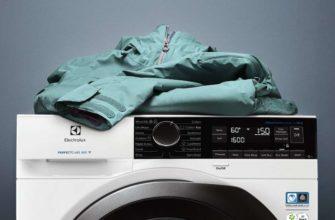 как постирать пуховик в стиральной машине автомат