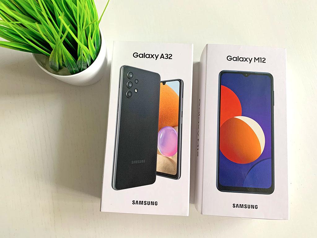 Сравниваем два новых Samsung А32 и М12 c экраном 90 Гц и большой батареей