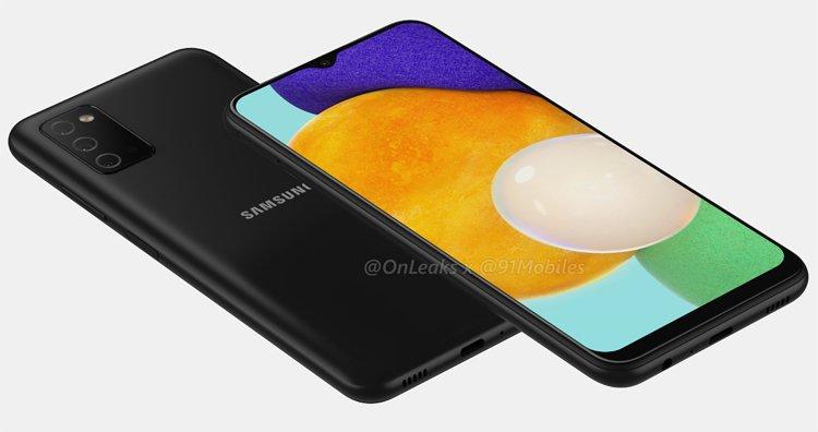 От Samsung никто не ожидал: появились рендеры дешевого смартфона нового поколения – Galaxy A03s