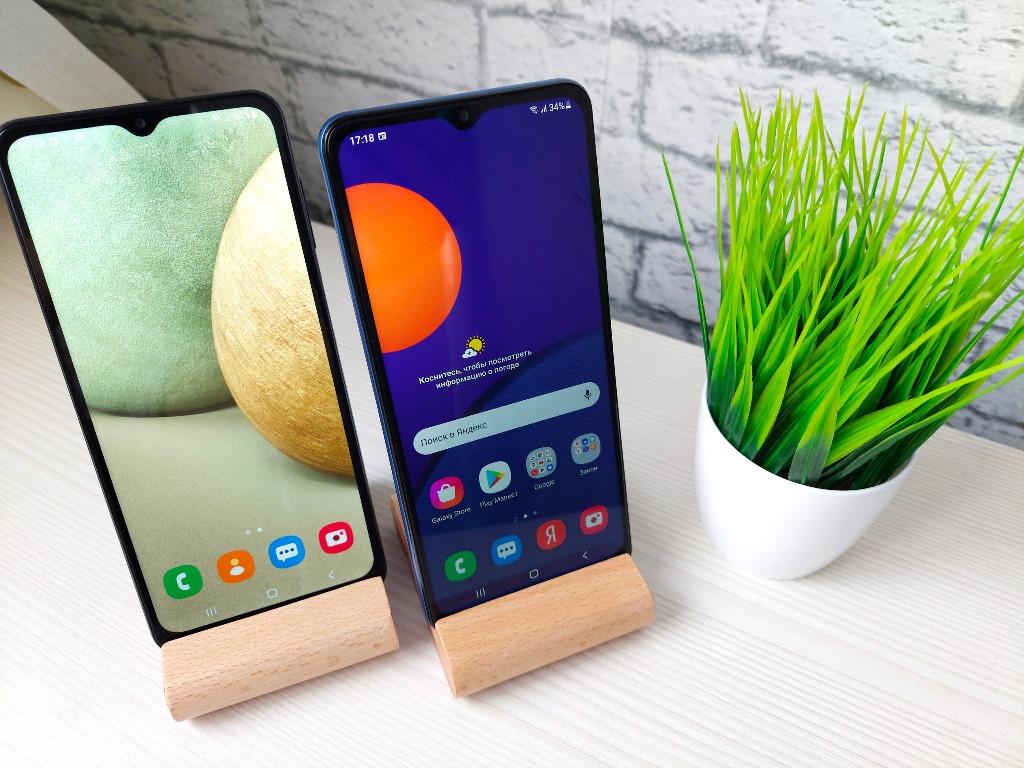 Samsung Galaxy A12 и Samsung Galaxy M12