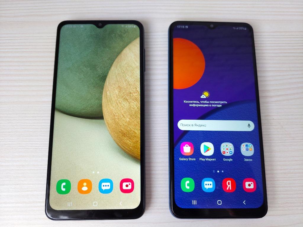 Экран Samsung Galaxy A12 и Samsung Galaxy M12