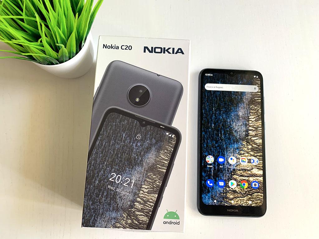Обзор Nokia C20. Дешевый и понятный смартфон