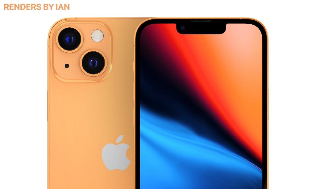 Как будет выглядеть iPhone 13 в золотом цвете: качественные изображения