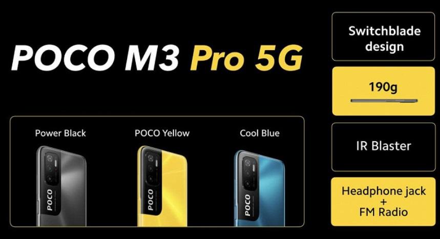 Достойное продолжение Poco M3: Pro версия с Dimensity 700 и мощной батареей