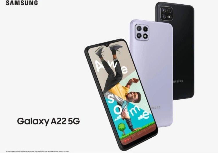 Свершилось: вышел Galaxy A22 – самый доступный смартфон Samsung с оптической стабилизацией