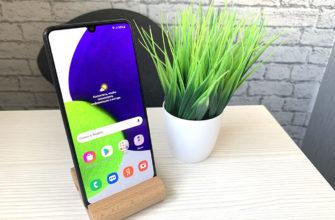 Обзор смартфона Samsung Galaxy A22