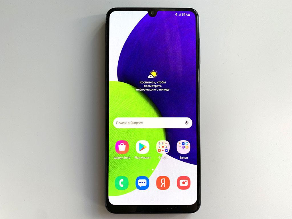 Экран Samsung Galaxy A22