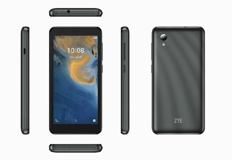 В Россию приехал новенький ZTE по странной цене: 2490 рублей, работает на Android 11 Go