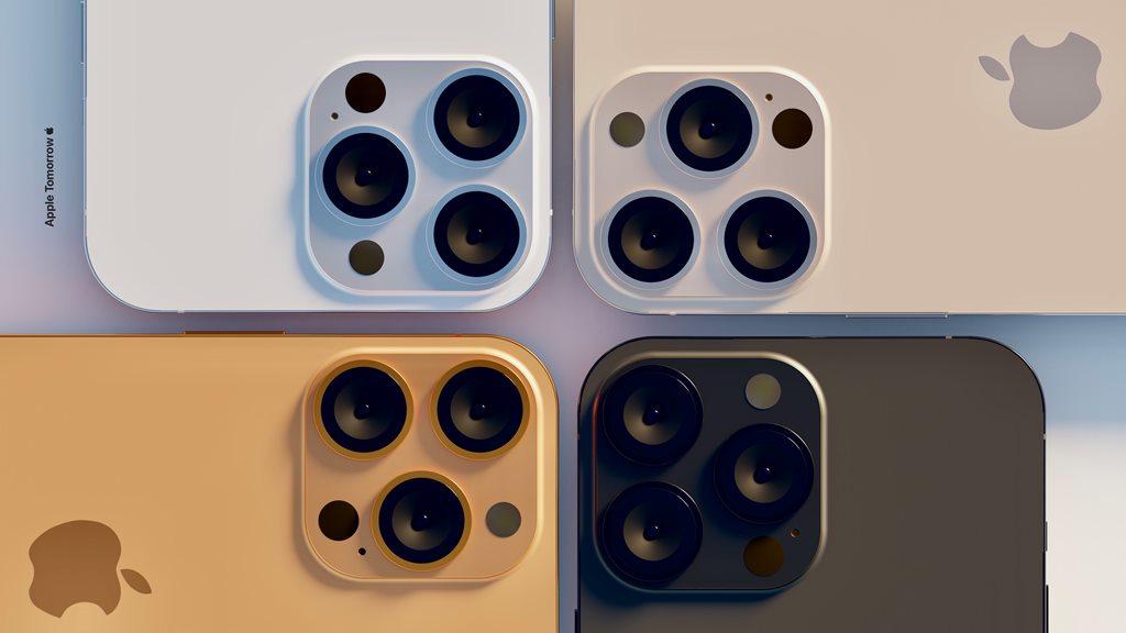 Выглядят шикарно: показали 4 новых цвета iPhone 13 Pro Max