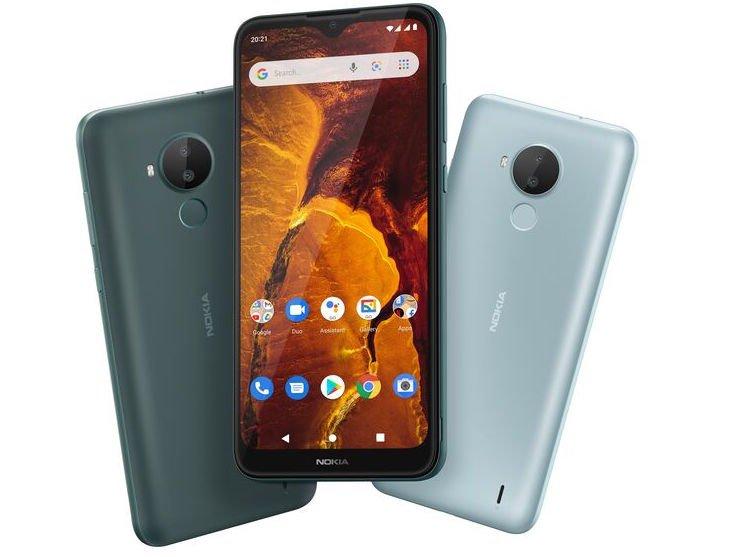 Nokia вытесняет с рынка дешевые смартфоны: вышла Nokia C30 за 8700 рублей с 6000 мАч, 6,82 дюйма и Android 11