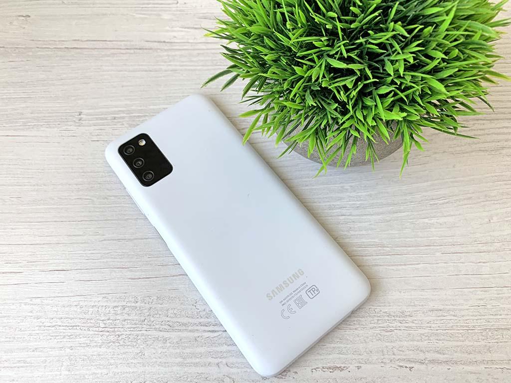 Задняя панель Samsung Galaxy A03s