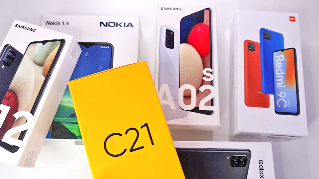 Лучшие смартфоны до 10000 рублей в 2021 году