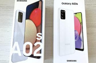 Samsung Galaxy A02s и Samsung Galaxy A03s
