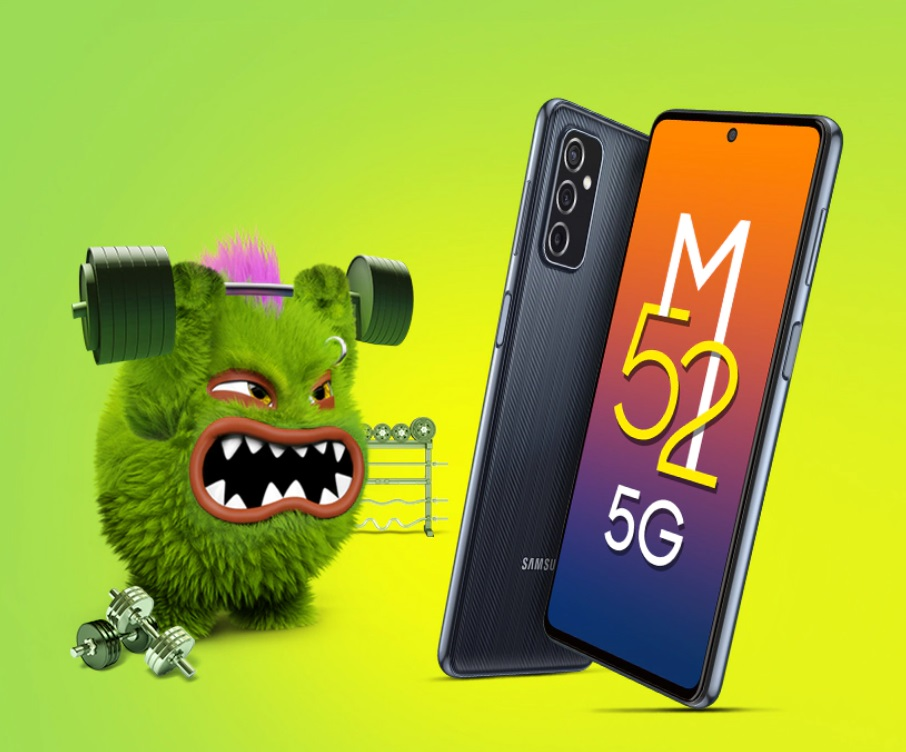 Обзор Samsung Galaxy M52 5G