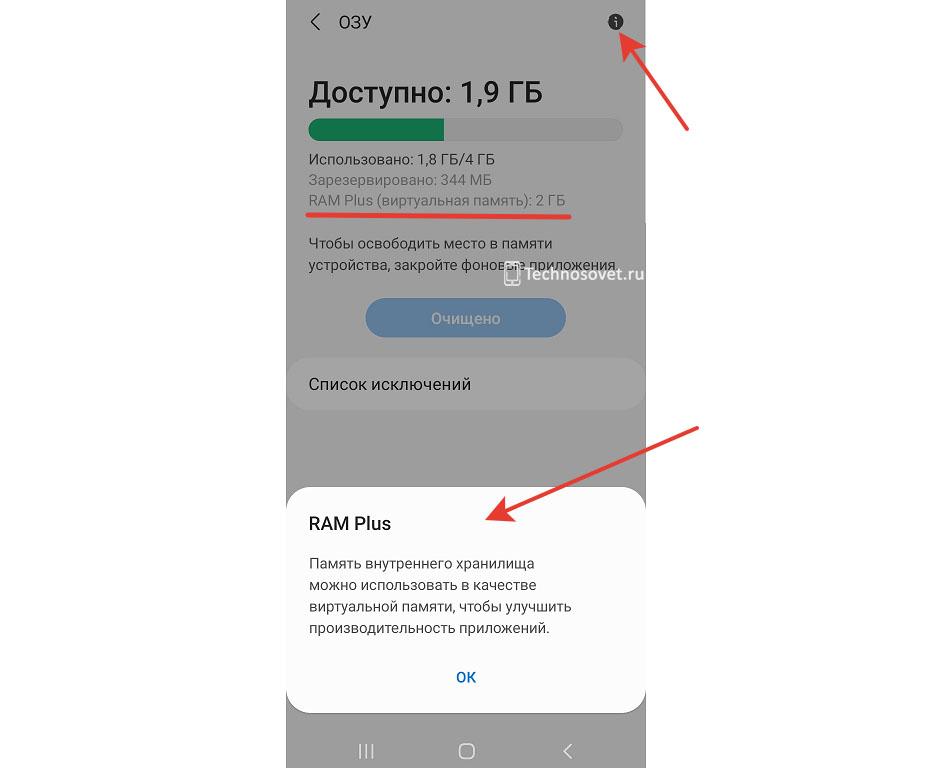 На Samsung Galaxy A12 добавили виртуальную оперативную память
